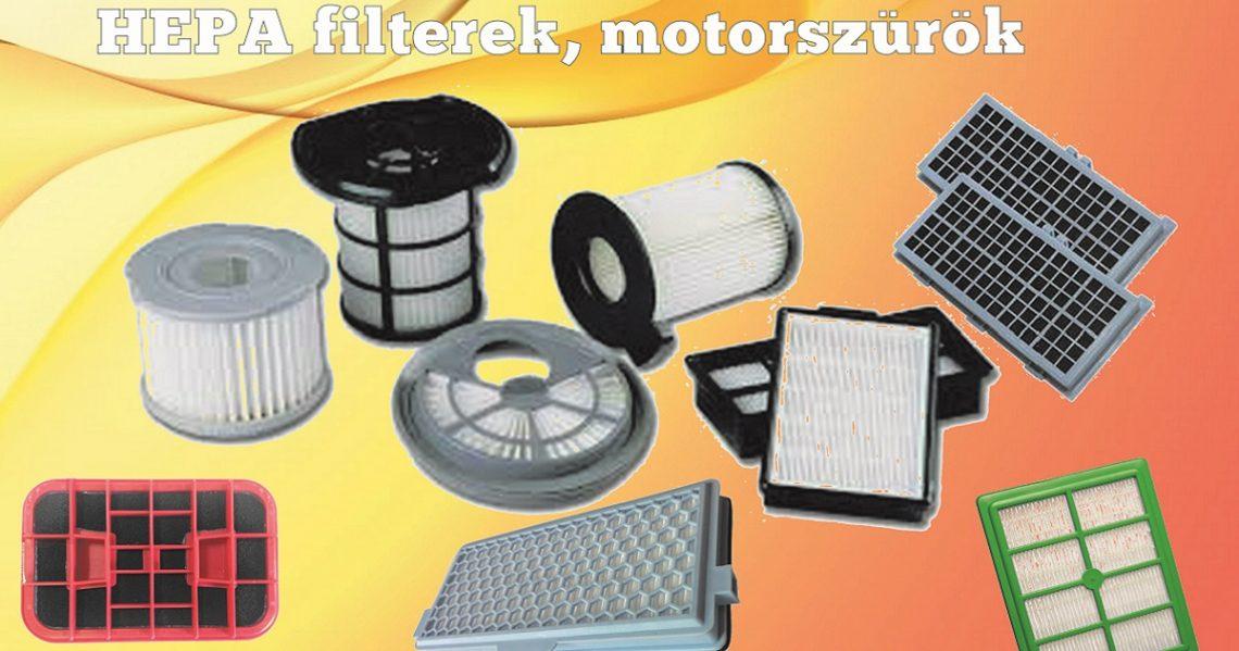 HEPA filterek